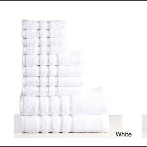 Luxury 10 pc  towel set